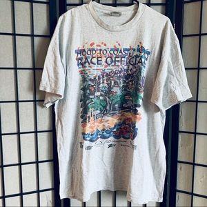 Nike vintage Hood to Coast 1996 t-shirt L